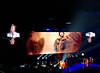 2017 Sydney: Paul McCartney #13 (dominotic) Tags: 2017 paulmccartney concert paulmccartneyoneonone thebeatles wings music mondaydecember112017 paulmccartneysetlist iphone8 reflection blackbackground popmusic rockroll blue orange sydney australia