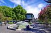 1159 Val de Loire en Août 2017 - Devant la Gare de Tours (paspog) Tags: tours loire valdeloire france touraine 2017 août august gare garedetours fontaine jetdeau fountain
