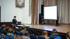 В Академии состоялась публичная лекция профессора СПбГУ Колотова В.Н.