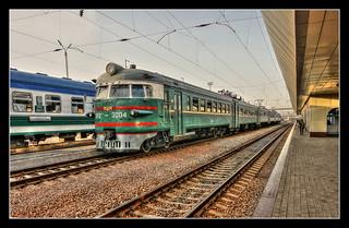 Taschkent UZ - Main Station  SŽD-class ЭР2