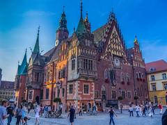 El Ayuntamiento (Jesus_l) Tags: europa polonia breslavia wroclaw plazadelmercado ayuntamiento jesúsl