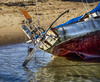 Beached (PAJ880) Tags: beached sailboat provincetown ma harbor stern gear cape cod abandoned storm