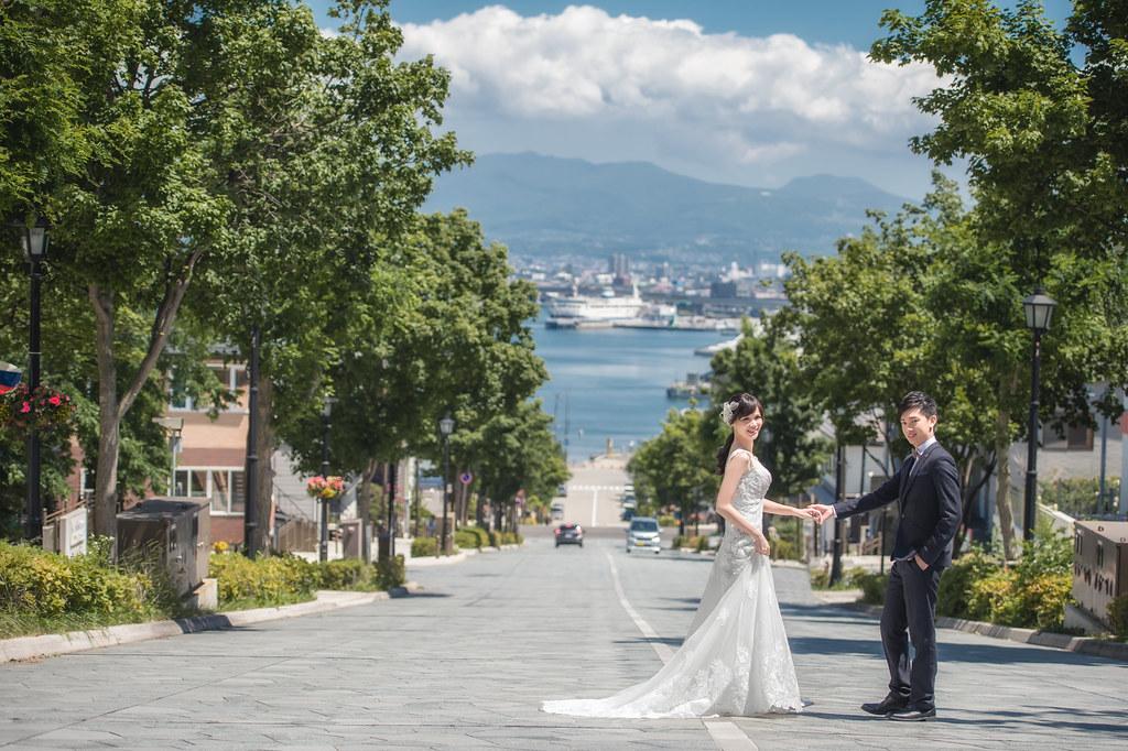 北海道婚紗 函館婚紗拍攝