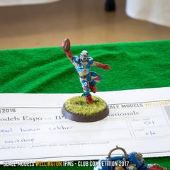 D1 - Blood Bowl Human Catcher - Nic Zwart