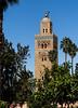 La Koutoubia (JadouGu) Tags: minaret monument maroc morroco marrakech garden jardin palmtree palmiers architecture old stone beautiful colourful nature