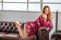 Roxana Gavrau (CrisssFotos) Tags: canon5dmark3 dreamproject londonn15 october2017 sigma50mmf14 tamron85mmf18 femalemodels model models photoshoot roxana beauty beautiful longhair lovely legs heels pink lingerie