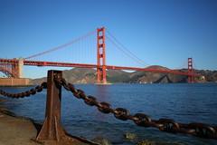 Golden Gate Bridge (Mettwoosch) Tags: goldengate bridge sanfrancisco california west usa coast america bay water sky architecture kalifornien brücke amerika bucht wasser pazific pazifik berge mountain himmel architektur canon eos 5dm3 ef lens 5d3 outdoor travel vacation urlaub holiday küste trip