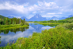 Oxbow Bend, Grand Teton NP, USA (Andrey Sulitskiy) Tags: usa wyoming grandteton
