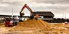 Giant Sand Castles (philbarnes4) Tags: trackedexcavator digger lorry sand removal philbarnes dslr nikond5500