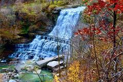 Albion Falls, Hamilton, Canada (leo_li's Photography) Tags: canada ontario hamilton autumn fall 加拿大 安大略省 秋色 秋天 カナダ オンタリオ州 秋 waterfall waterfalls 瀑布