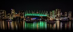 Reflections of the heart of Vancouver (Christie : Colour & Light Collection) Tags: vancouver theheartofvancouver bc canada bcplacestadium stadium bestofbritishcolumbia bcsportshalloffame bclionsfootball bclions homeofbclions falsecreek nightlights evening afterdark nightphotography reflections thevancouverwhitecaps 2011winterolympics 2010paralympics beautifulbritishcolumbia beautifulbc boats yachts scenic romantic romance love green peaceful calm thebestofme nikond5600 nikon photography skyline skyscrapers buildings lighting fortheloveofvancouver city