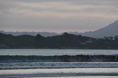 Hanging wave (Ian@NZFlickr) Tags: waikouaiti beach wave pacific ocean sea karitane otago nz dusk