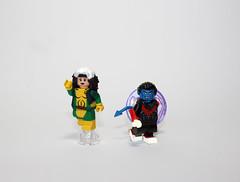 Darkhomes (Kaiju Dan) Tags: nightcrawler rogue xmen legoxmen legosuperheroes