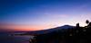 Mount Etna at Blue Hour (YaYapas) Tags: vulkan bluehour sizilien sunset eveningsun mountetna blauestunde sicily abendsonne sonnenuntergang vulcan ätna taormina lx7 sicilia italien it