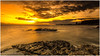 Warm Sunrise (Steven Peachey) Tags: seascape sea sky clouds beach rocks light morning stevenpeachey lightroom exposure graduatedndfilter leefilters lee09gnd formatthitech whitburn northeastcoast northeastengland coast ef1740mmf4l 5dmarkiv canon5dmarkiv canon hitech09gnd goldenhour water uk england