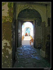fortress hallway (harrypwt) Tags: harrypwt africa canons95 s95 city ghana elmina fortress historical