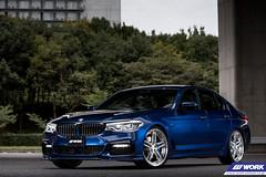 END.CC BMW 530i on WORK Gnosis GR204 and GR205 (WORK Wheels Japan) Tags: work workwheels wheels endcc bmw 530i gnosis gr205 gr204