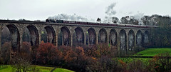 wrong time wrong place (midcheshireman) Tags: steam train locomotive mainline wales cefnmawr 70013 olivercromwell