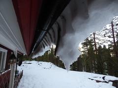 over the edge (jondewi52) Tags: building colours colour frozen filter garden white ice fjällsjö jämtland nature no norrland nofilter snow winter