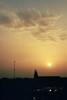 hello is (michel nguie) Tags: michelnguie film analog vertical roubaix rbx sun sky clouds church shadows sunshine aube aurore goldenhour magiclight morning