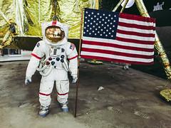 Moon Landing | Ghastly Travels (ghastlyvongore1) Tags: spacesuit moon lander astronaut navy museum history pensacola florida