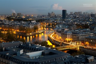 Depuis la Tour Saint-Jacques, Paris