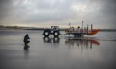 BEN AT PORTHCAWL. (IMAGES OF WALES.... (TIMWOOD)) Tags: wfc welsh flickr cymru wales beach coast porthcawl bridgend flickrmeet lifeboat lifeboatmen rnli lighthouse tim wood gallery