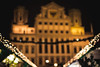 blurred city hall of augsburg during christmas season (thethomsn) Tags: 50mm advent augsburg bavaria bayern blurry bokeh building christkindlesmarkt christmas christmasmarket city cityhall germany historic night outdoors rathaus row thethomsn winter