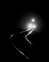 North Pole Express (nelhiebelv) Tags: monochrome night train northpoleexpress 1225 locomotive elsie michigan