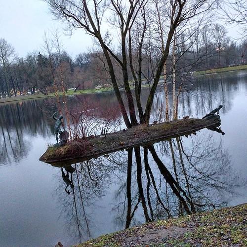 #spb #park_pobedy #lake