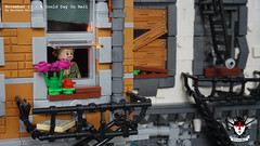 A Cold Day In Hell 6 by Barthezz Brick (Barthezz Brick) Tags: crime scene lego moc barthezz brick city police dreams custom barthezzbrick