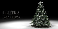 Happy Holidays from LeLutka (Lelutka SL) Tags: lelutka lelutkasl sl secondlife second life christmas tree xmas gift spirit happy holidays
