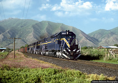 Motive Power Industries Leasing (jamesbelmont) Tags: motivepowerindustries emd sd40 mpi utahrailway railway coal lease springville