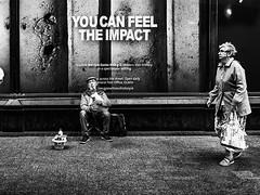 The impact (Saurí) Tags: street streetphotography calle clarooscuro callejeando callejera urban ireland paisaje social fotoreportage