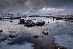 Winter magix (ola_er) Tags: rannoch moor glen coe scotland landscape winter snow december snowcapped mountains hills