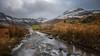 Silver grey sky over Snowdonia (Einir Wyn Leigh) Tags: landscape lake hut silver grey gold orange snow mountains winter december walk outside contrast nature weather clouds wales cymru