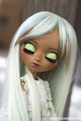 Mint Chocolate Ice Cream (YummySweetsDolls) Tags: custom pullip full conniebees connie bees yummy sweets dolls yummysweetsdolls candy dessert fc blythe jun planning groove