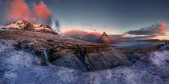 Kikjufell panorama (ric.gayan) Tags: iceland kirkjufell sunrise
