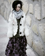Dollcember Day6 ~ Cold (PeachyStraw) Tags: doll poupée angelphilia alpaga alpaca arcadia animedoll realartproject rap yamato yuuna pinkdrops pinkdropsn°28 quarantotto obitsu dollcember