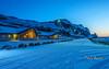 Along The Way . (Chula Amonjanyaporn) Tags: chula amonjanyaporn night iceland hotel europe winter blue จุฬา อมรจรรยาภรณ์
