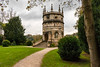 Octagonal Tower - Studley Royal (Keith in Exeter) Tags: octagonaltower studleyroyal watergardens fountainsabbey ripon nationaltrust folly tower landscape tree bush grass lawn path steps garden outdoors