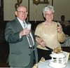 Me & Betty Celebrating our Golden Wedding Anniversary. (kingsie82) Tags: husband wife golden wedding anniversary granda nanna celebrate celebration party family fun laugh love smile relax enjoy pather wishaw lanarkshire scotland drink cake