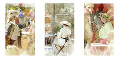 serie du 23 07 17 : Frontignan (basse def) Tags: street people sun costume