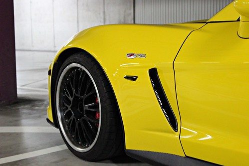 Chevrolet Corvette Z/06.