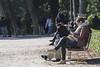 reading (=Mirjam=) Tags: nikond750 madrid spain elretiro parc city reading outside november 2017