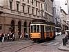 1582 (Professor Bop) Tags: milanoitaly professorbop drjazz olympusem1 tram railroad railway transit transportation tracks rails city urban