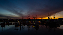_DSC3208-3 (exceptionaleye) Tags: availablelight a7ii 16~35 za zeiss sandiego southerncalifornia california light sunset exceptionaleye ilce7m2 sonya7ii a7mii boats fishingboats sky water reflection reflections waterreflections dusk twilight saltwater civiltwilight ngc variotessartfe41635