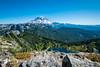 Rainier from Tolmie Peak (Justy.C) Tags: cascademountainrange eunicelake landscapephotography mountrainiernationalpark summer tolmiepeak tolmiepeaktrail usnationalpark ashford washington unitedstates us