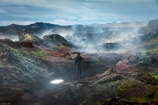 Leaving Krafla Area 🌋   / Laurent - Iceland