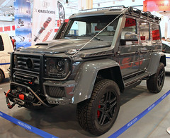 Adventure Time (Schwanzus_Longus) Tags: essen motorshow german germany modern car vehicle offroad offroader 4x4 4wd awd suv sport utility mercedes benz g500 amg g class brabus adventure 550